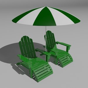 max sun lounger beach set