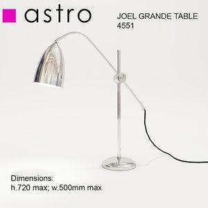 lamp astro joel grande 3d obj