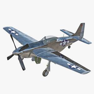 3dsmax aircraft north american p 51