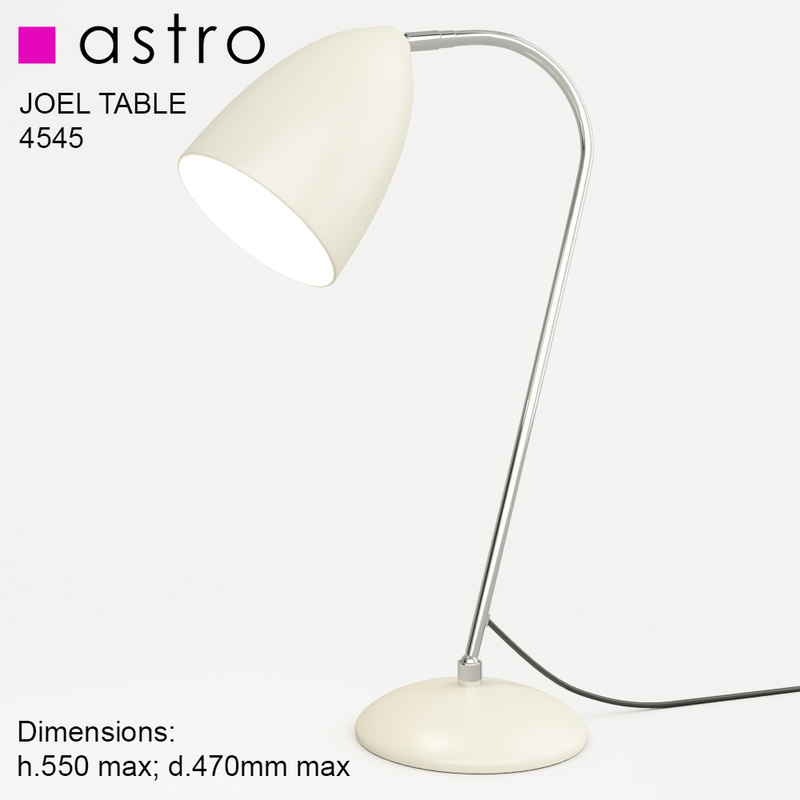 lamp astro joel table 3d max