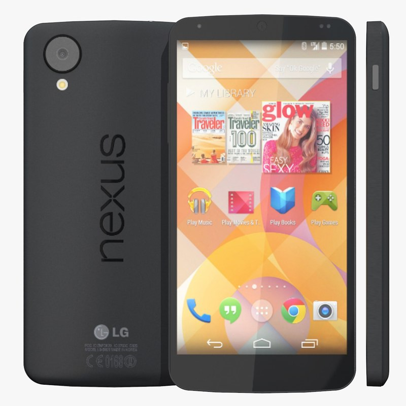 lg google nexus 5 3d model