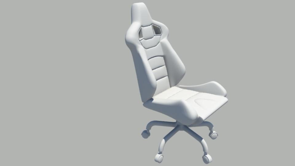 racing chair obj