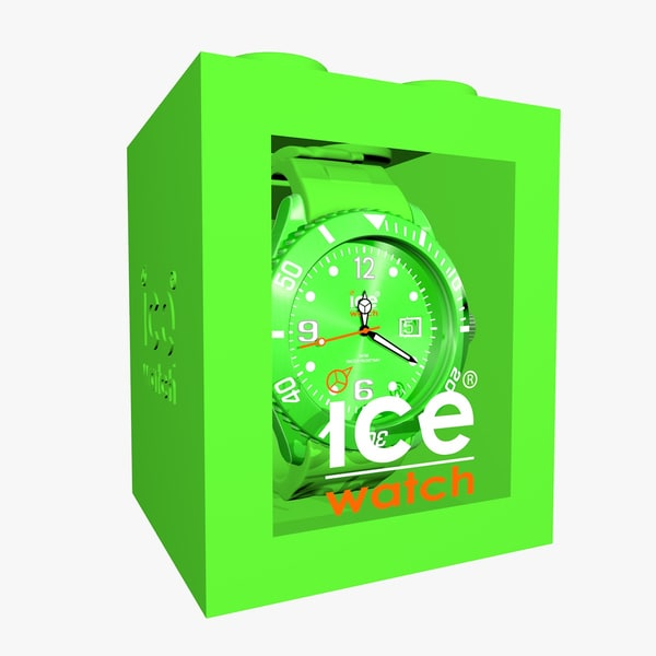 green ice watch obj