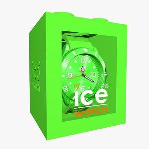green ice watch obj