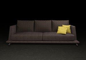 sofa modern minimal 3d max