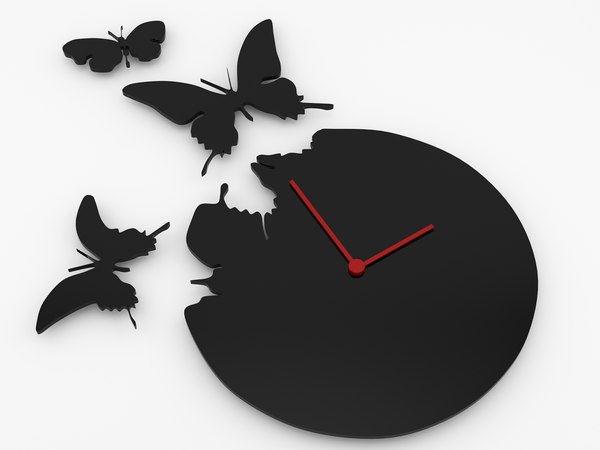 free 3ds model decorative wall clock