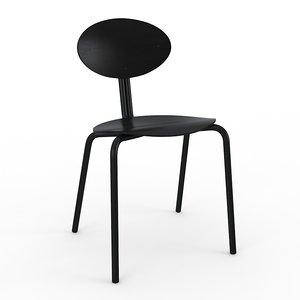 lukki 5 artek chair 3d max