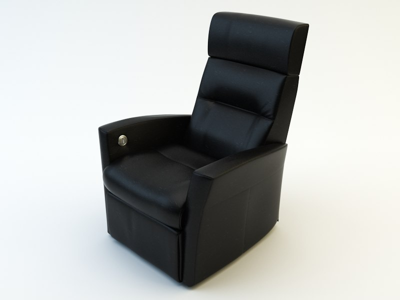 3d chair armchair arm model