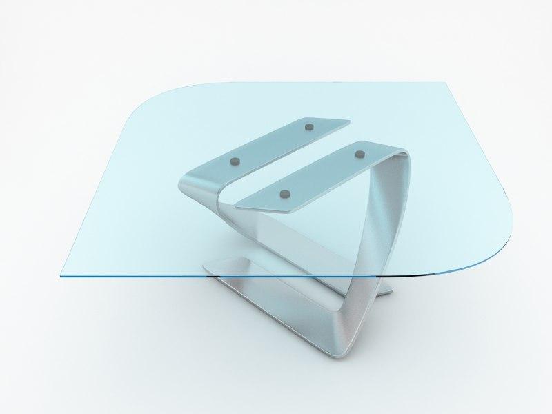 3d model table twist