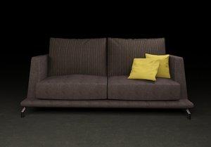 3d model sofa modern minimal