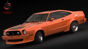 3d mustang cobra 1978