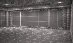 3d model rise living room 2012