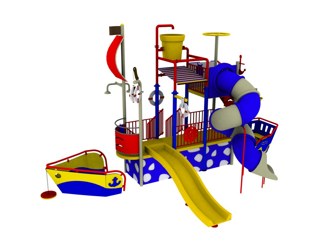 water ship playground 3ds