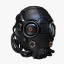 fantasy helmet 3D models