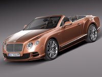 Bentley Continental GT Speed Cabrio 2015