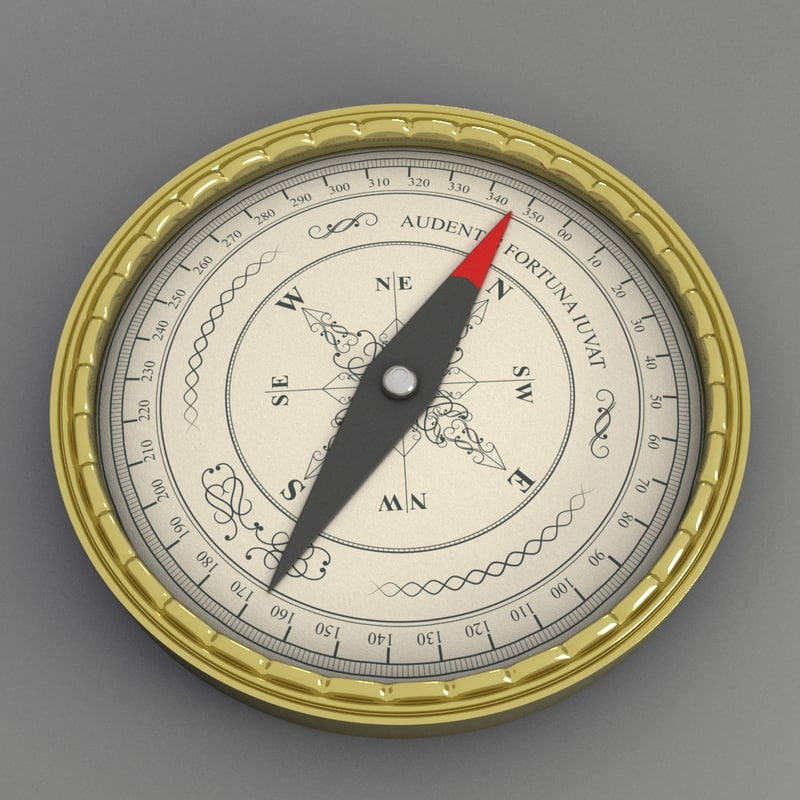 3ds max compass