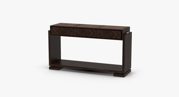 smania virgi console table 3d c4d