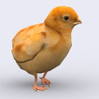 3ds max - chick