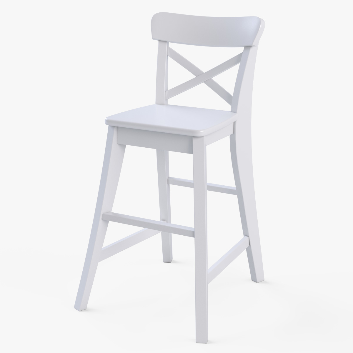 Phenomenal Junior Chair Ikea Ingolf White Andrewgaddart Wooden Chair Designs For Living Room Andrewgaddartcom