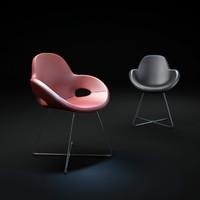 3ds max cara-armchair