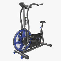 Exercise Bike Stamina Airgometer 3D Model