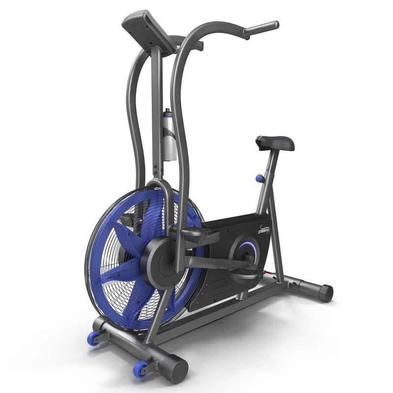 exercise bike stamina airgometer 3d model
