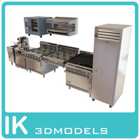 Commercial kitchen technics pack
