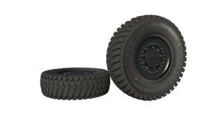 kamaz weel tire 3d model