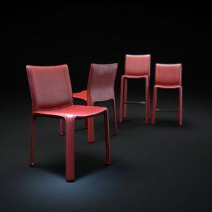 3d 412-cab-chair