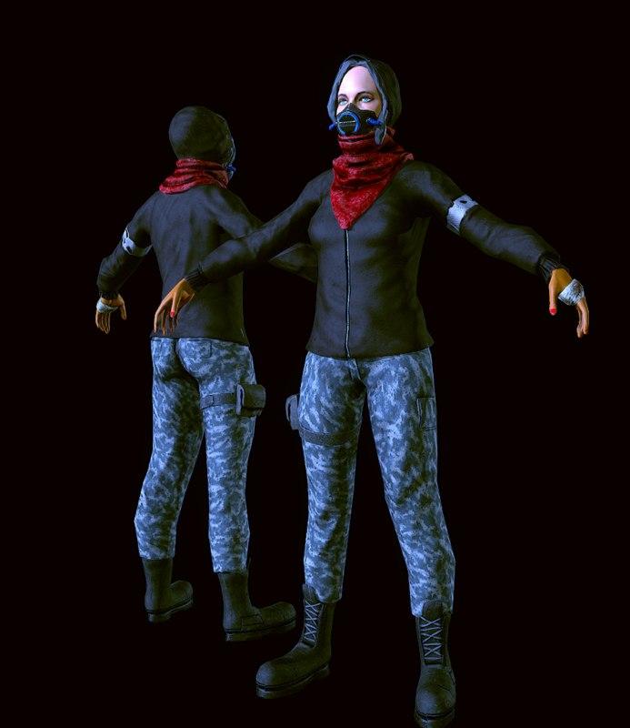 max girl mercenary