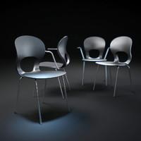 3d pikaia-chair model