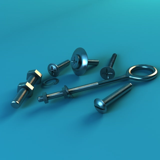 3d fasteners model