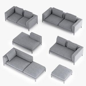 3d b italia dives sofa