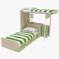 Two Story Children's Bed