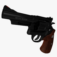3d model of photorealistic 29 629 44 magnum