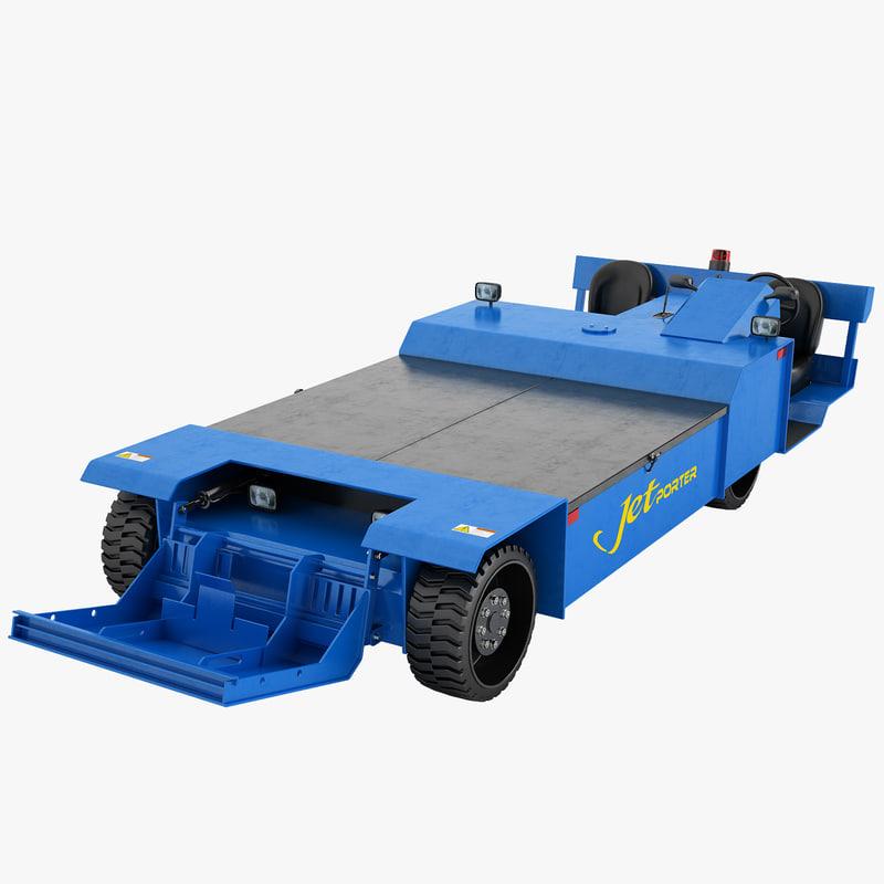 3d model jet porter jp100s