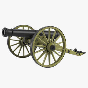 3d model of cannon field 12