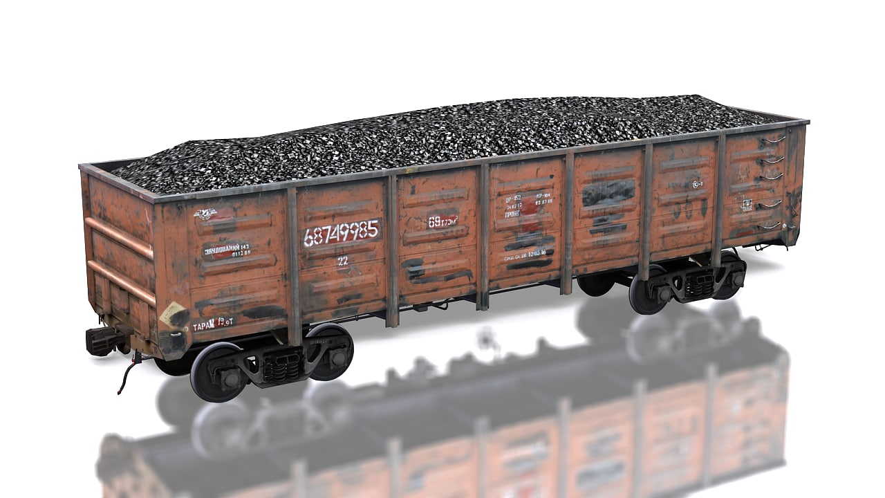 cargo train 12-1592 traincars max
