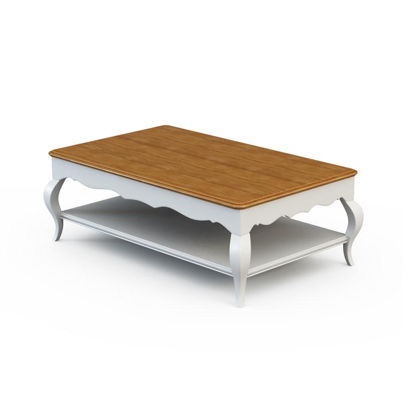 3d model coffee table pr220