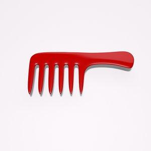 3d comb hair