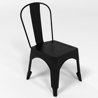 tolix chair 3d model