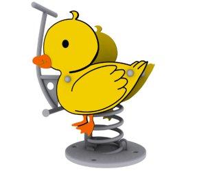 duck spring 3d model