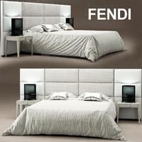 Regent bed Fendi Casa