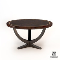 3d dining table eichholtz