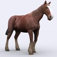 - horse 3d 3ds