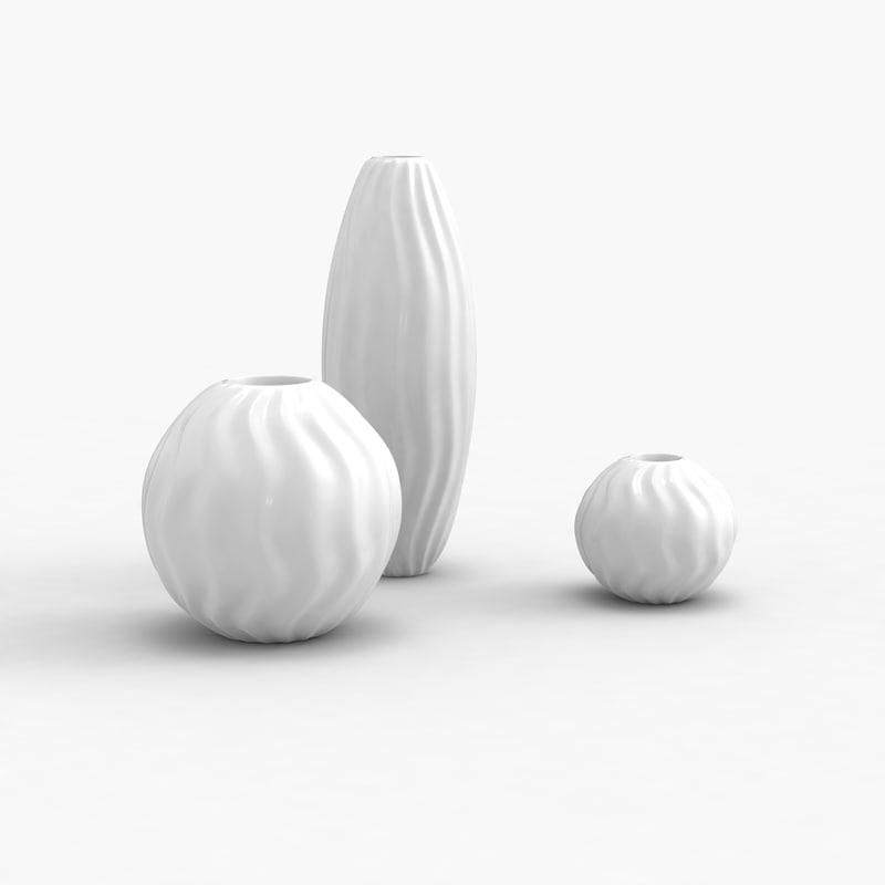 modern vases max
