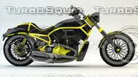 speedmaster motorcycle cruiser 3d 3ds