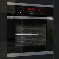 3dsmax kuppersbusch eeb6360 black oven