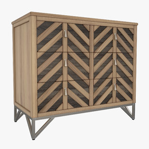 gabby gertrude chevron chest max