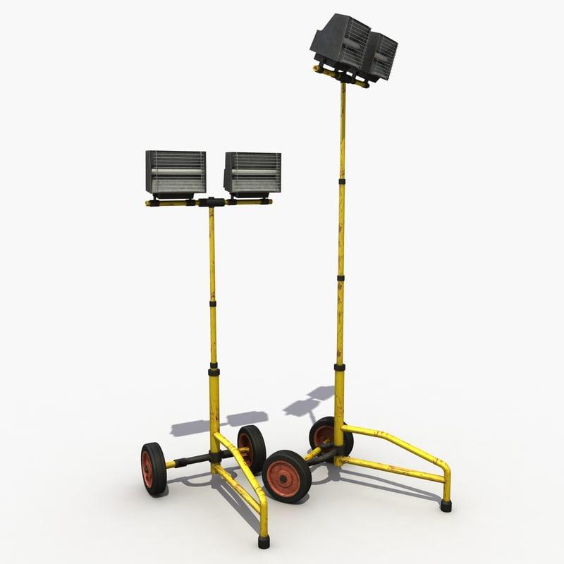 3ds max industry spot spotlight
